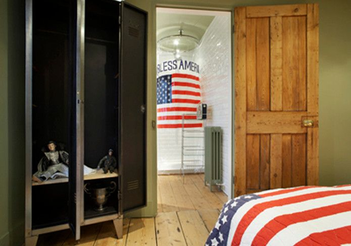 Oblivion Tom Cruise for a Eclectic Bedroom with a Tom Cruise and Knightsbridge, London by Flux Interiors