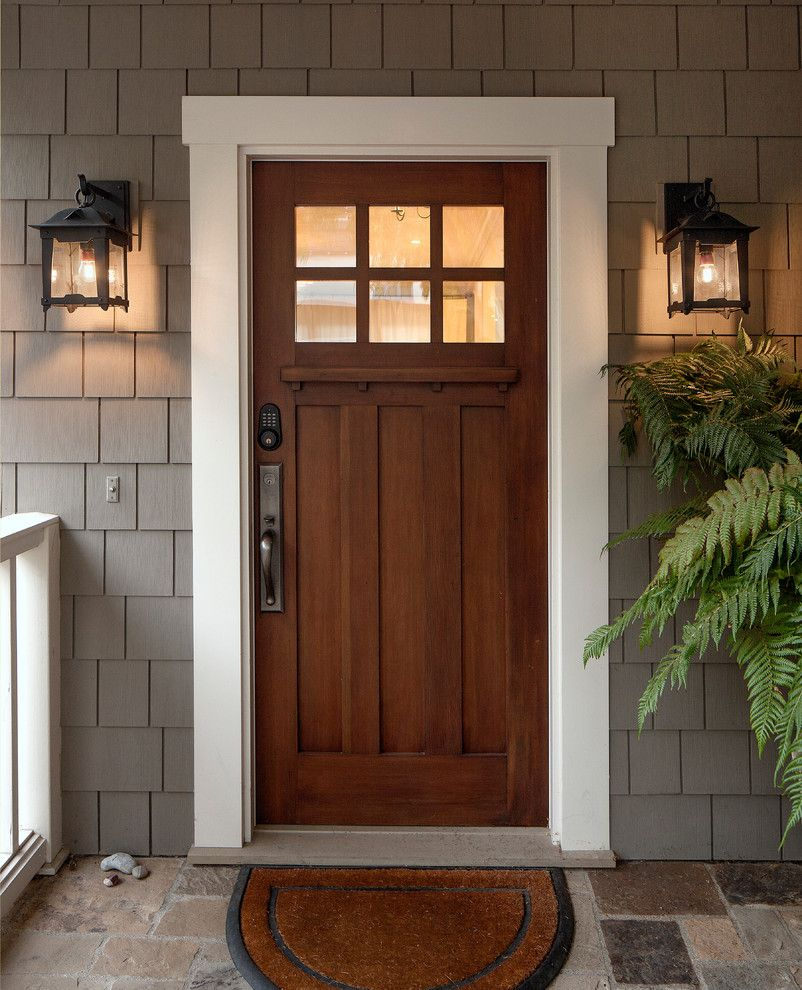 Ole Miss Housing for a Craftsman Entry with a Outdoor and Loma Lantern by Dlg Lighting Co