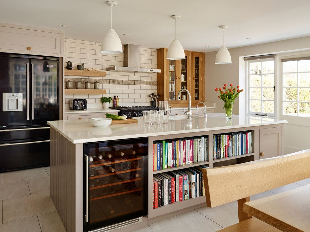 One Seagrove Place for a Traditional Kitchen with a Kitchen Storage and Portfolio by Harvey Jones Kitchens