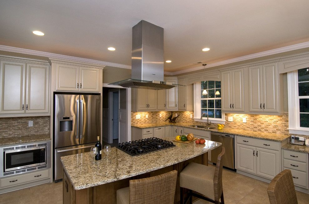 Onq Legrand for a Traditional Kitchen with a Traditional and Sully Style by S&w Home Builders