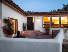 Opal Santa Barbara for a Mediterranean Exterior with a White Exterior and Santa Barbara Mission Canyon by Andrulaitis + Mixon