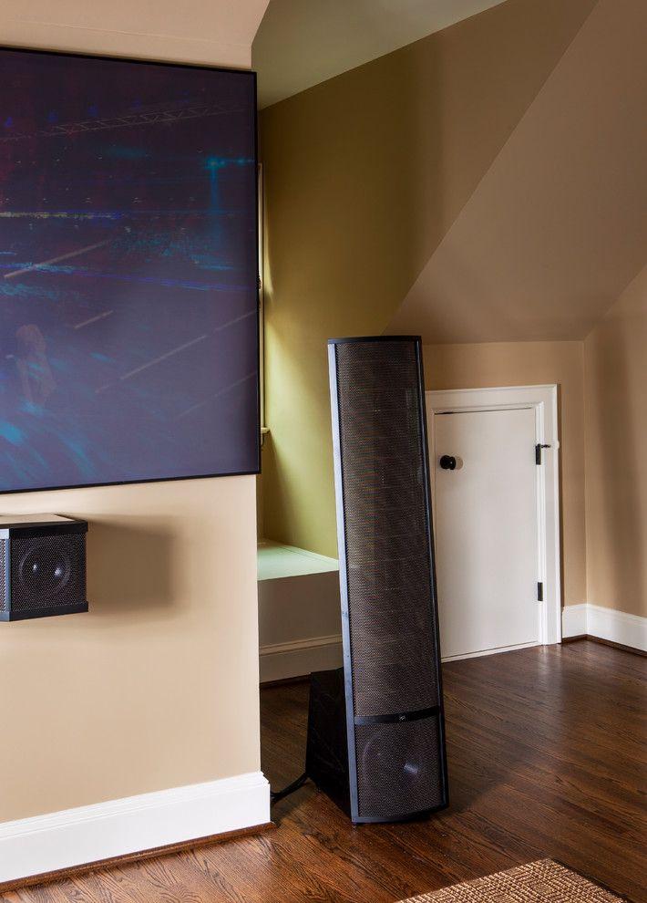Orland Park Theater for a Traditional Home Theater with a Hi Fi and Myers Park Media Room by Moore Audio Design