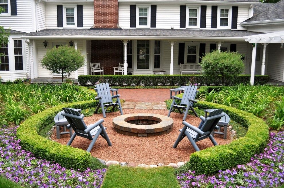 Outdoor Basketball Courts Near Me for a Traditional Patio with a Benches and Traditional Patio by Kdlandscapeinc.com