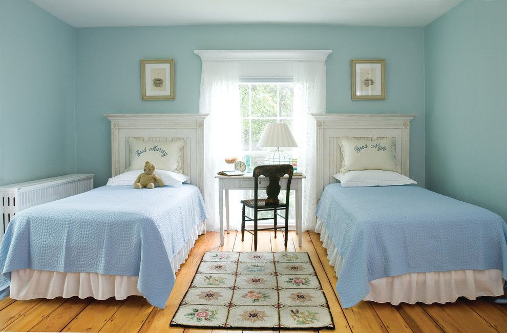 Outer Banks Furniture for a Traditional Kids with a Light Blue Walls and Big Pink by Banks Design Associates, LTD & Simply Home