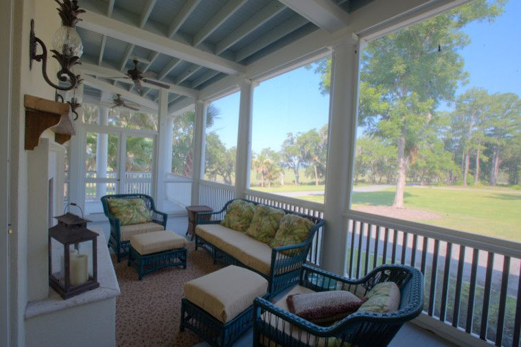 Palmetto Bluff Sc for a Traditional Porch with a Luxury and West Bluff by Watermark Coastal Homes, Llc