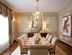 Panema for a Traditional Dining Room with a Formal Leed and LEED Residence Belle Meade by William Johnson Architect