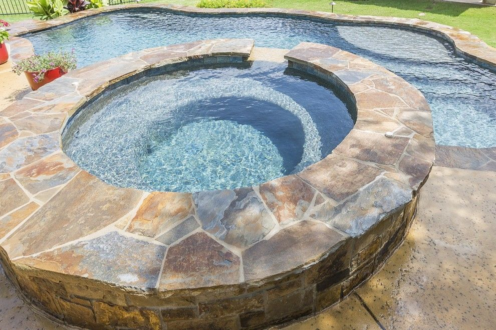 Paradise Pools and Spas for a Contemporary Pool with a Custom Pool Builder and Fritsch Custom Pool & Spa   Freeform Pool by Paradise Pools & Spas