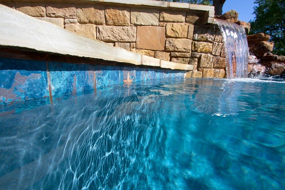 Paradise Pools and Spas for a Contemporary Pool with a Modern Pool and Tricky Custom Pool - Freeform Pool by Paradise Pools & Spas