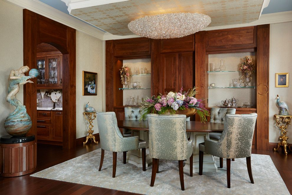 Paramount St Cloud for a Traditional Dining Room with a Traditional and Luxury Home in St. Cloud Country Club by Home Check Plus