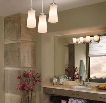 Paramus Lighting for a  Spaces with a Woodcliff Lake and Bathroom Lighting Fixtures by Lightwaves Nj