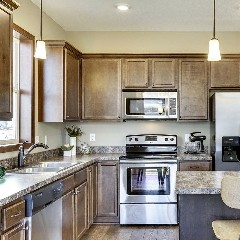 Parkview Homes for a Transitional Kitchen with a Detached Townhome and the West Haven at Parkview by Centra Homes Llc