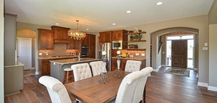 Parkview Homes for a Transitional Kitchen with a Kitchen and 4303 Parkview Circle by Regency Homes, Inc.