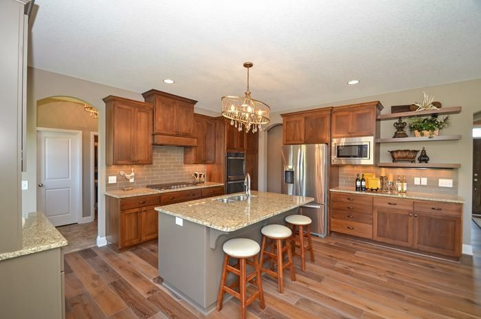 Parkview Homes for a Transitional Kitchen with a Two Story and 4303 Parkview Circle by Regency Homes, Inc.