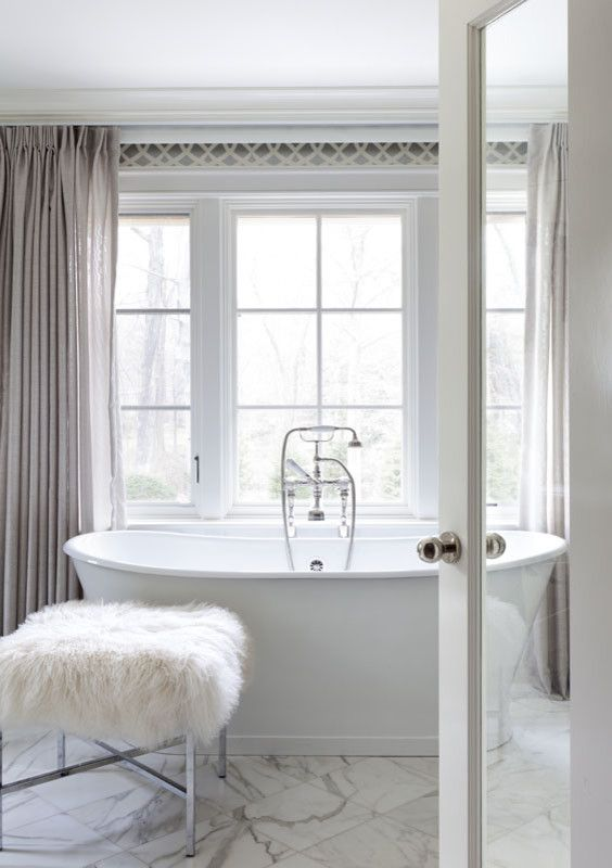 Pasargad for a Traditional Bathroom with a Traditional and Master Bathroom by Tiffany Eastman Interiors, LLC