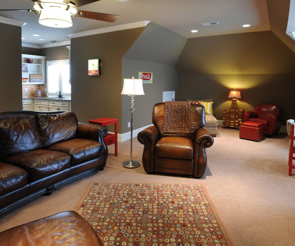 Pasargad for a Traditional Living Room with a Family Room and Bonus Room #2 by Brian Benda