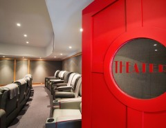 Paso Robles Theater for a Traditional Home Theater with a Movie Theater and Theater by Phinney Design Group