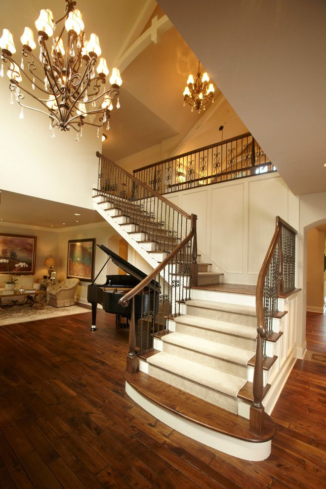 Patcraft Carpet for a Traditional Staircase with a Traditional and Spur Road   Edina, Mn by Schrader & Companies