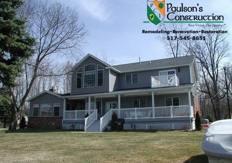 Paulson Tours for a Transitional Spaces with a Windows and Additions by Paulson's Construction, Inc