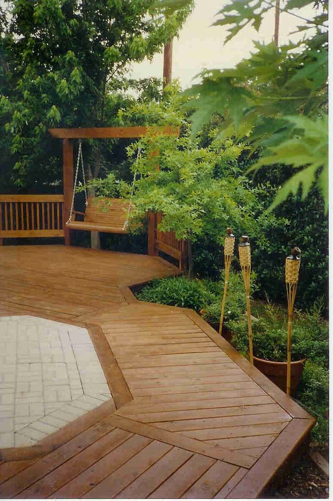 Pavestone for a  Deck with a Cool Deck and Deck with Pavestone by 12 Jordan Stones, Llc