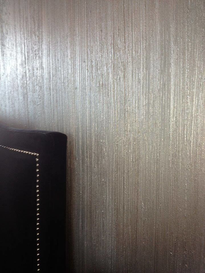 Pearle Vision Omaha for a  Bedroom with a Linear and Brushed Silk by Slj Paint and Decorative Finishes