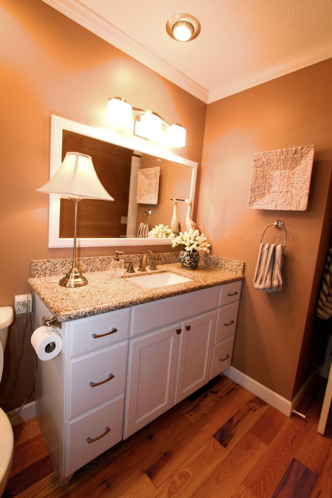 Pearle Vision Omaha for a Traditional Bathroom with a Quartz and Tastefully Done by Merritt's Quality Cabinets