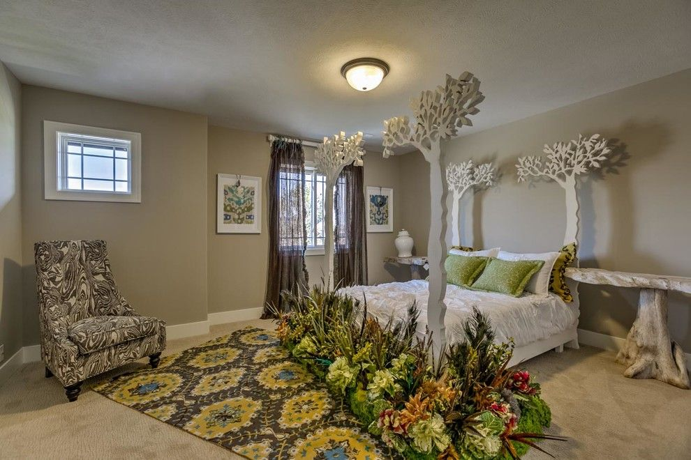 Pearle Vision Omaha for a Transitional Kids with a Garden Bedroom and 2014 Inspriation Tour by Lee Douglas Interiors