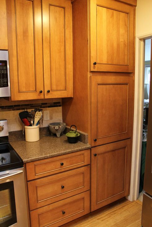 Pecan Plantation for a Rustic Kitchen with a Custom Cabinetry and the Bumpers by Home Interior Solutions of Northwest Florida