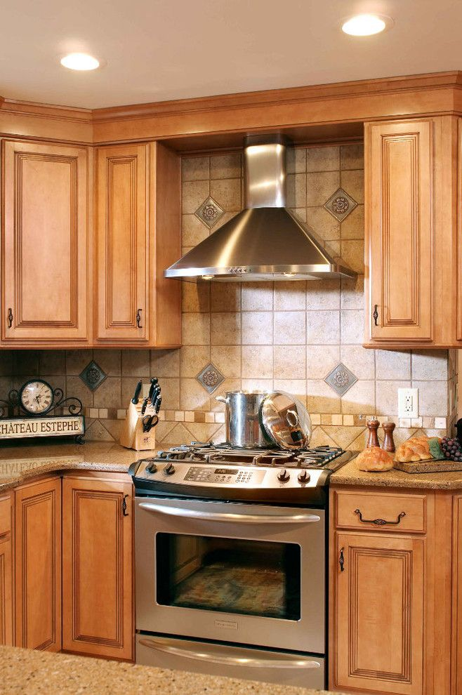 Pecan Plantation for a Traditional Kitchen with a Granite Composite and Calvert by Kircher Design & Build