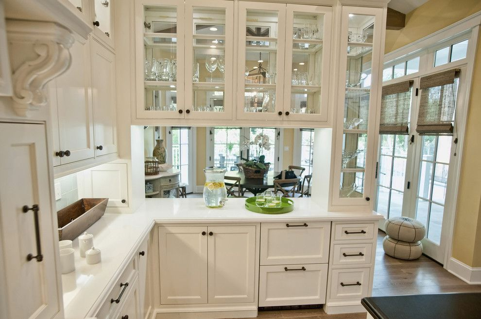 Peninsula Wellness Center for a Traditional Kitchen with a White Cabinets and Breezy Brentwood by Jill Wolff Interior Design