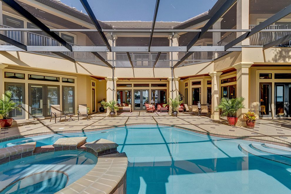 Pensacola Pools for a Contemporary Pool with a Jason Parker and 1806 Cedar Leaf Santa Rosa Beach, Fl by Emerald Coast Real Estate Photography