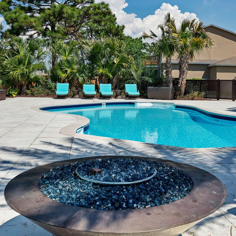 Pensacola Pools for a Transitional Pool with a Rosemary Beach and 3752 Rajah Cove Gulf Breeze, Fl by Emerald Coast Real Estate Photography