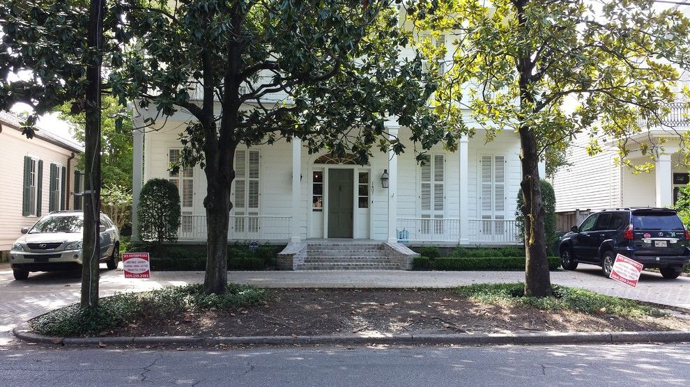 Penthouse New Orleans for a Traditional Exterior with a Front Doors and Exterior by Ses Enterprises, Llc