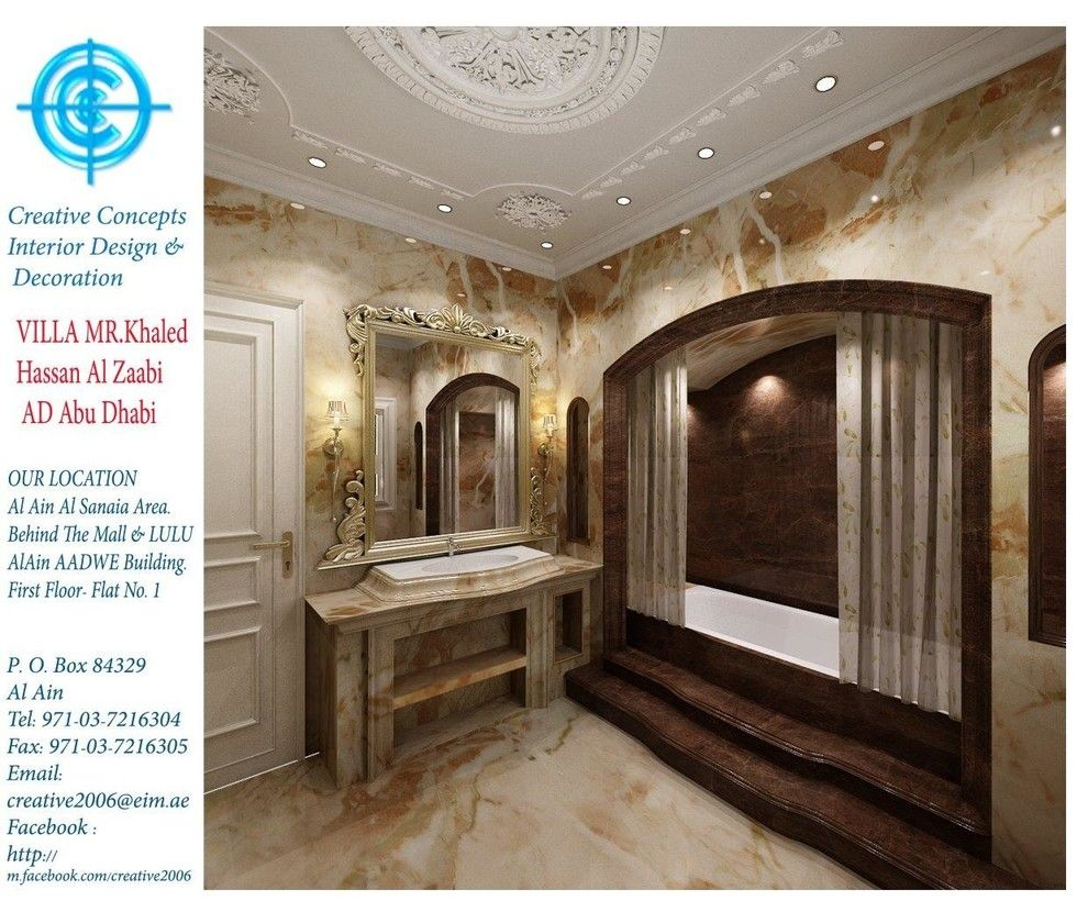 Pepco Energy Services for a Traditional Spaces with a Renovations and Khaled Hassan Al Zaabi Ad Abu Dhabi Villa 2014 by Ccg Creative Concepts Group Interior Design & Deco