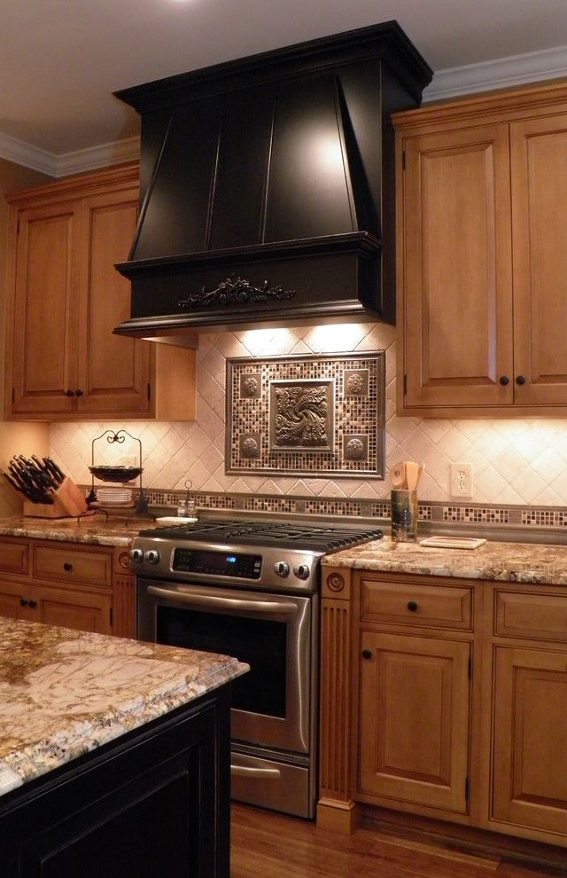 Pf Changs Albuquerque for a Mediterranean Kitchen with a Granite Countertop and Loudoun Kitchen 4 by Cameo Kitchens, Inc.