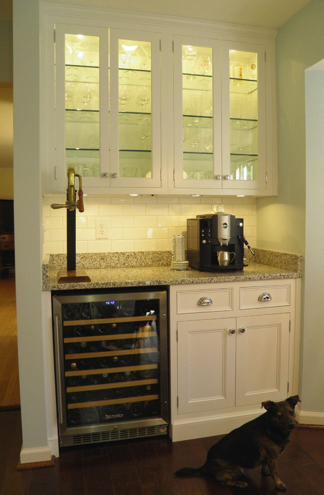 Pf Changs Albuquerque for a Traditional Kitchen with a Cute Dog and Minton Kitchen 6 by Cameo Kitchens, Inc.