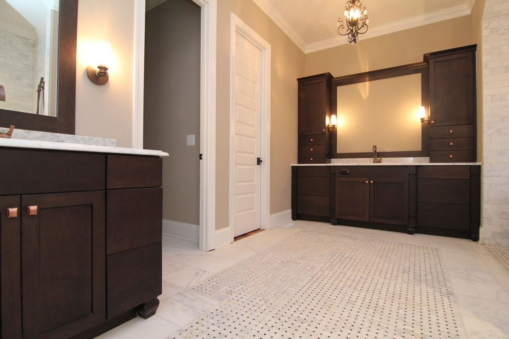 Pf Changs Raleigh for a Craftsman Bathroom with a Espresso Cabinets and