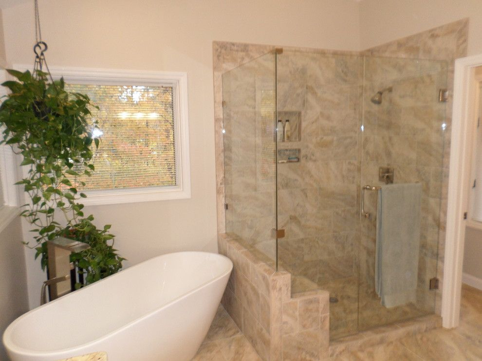 Pf Changs Raleigh for a  Spaces with a Lay Out Change and Free Standing Tub with This Bath Out Wit and North Raleigh Master Bath Reno by Wd Smith Construction, Llc
