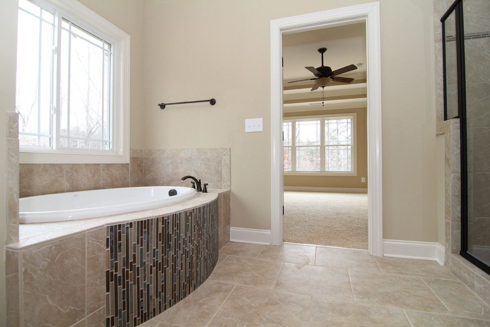 Pf Changs Raleigh for a Traditional Bathroom with a Bathroom Tile and Master Bathroom   the Bostwick by Stanton Homes