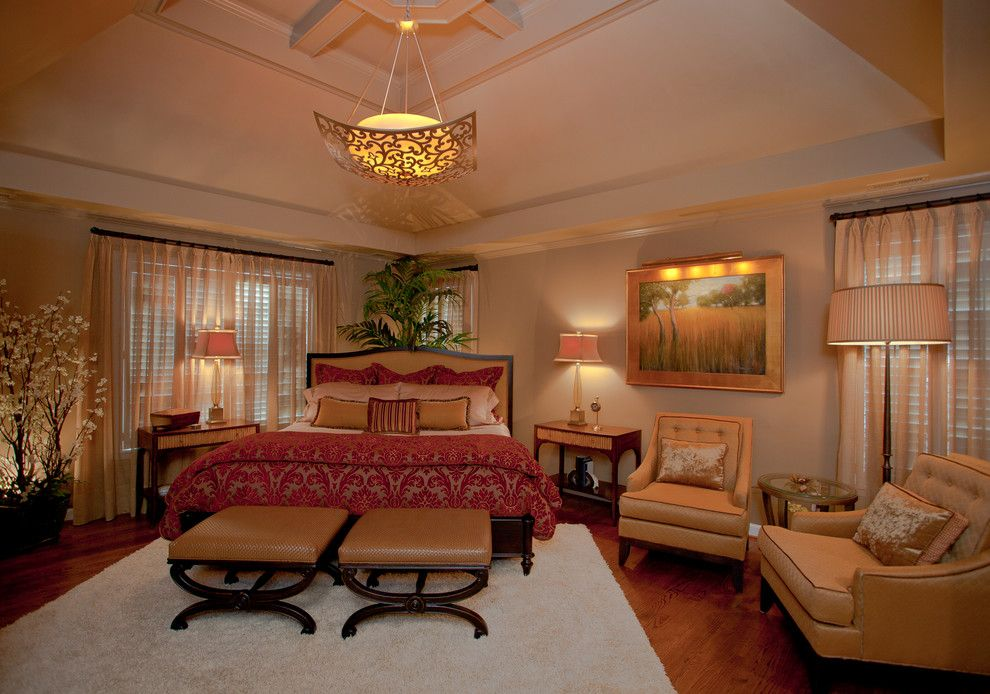 Pf Changs Raleigh for a Traditional Bedroom with a Traditional and Sweet Dreams, Preston 1 by Colorful Concepts Interior Design