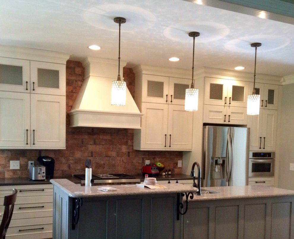 Pf Changs Raleigh for a Transitional Kitchen with a Off White Cabinets and Ferrell Kitchen by Interior Elements by Tina