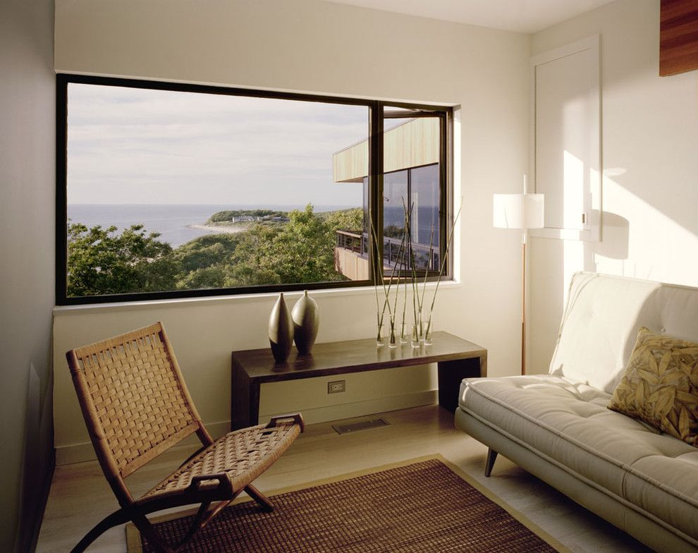 Pf Changs Waterfront for a Modern Family Room with a View and Family Room by Robert Young Architects
