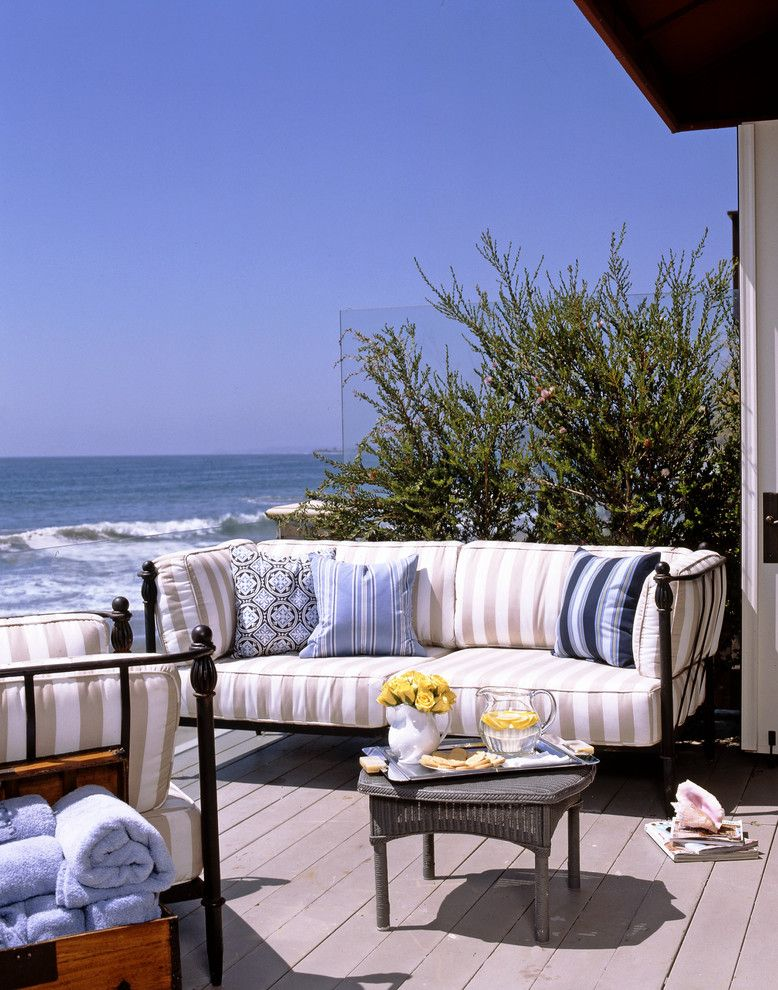 Pf Changs Waterfront for a Traditional Patio with a Beach Front and Malibu on the Beach by Susan Cohen Associates, Inc.