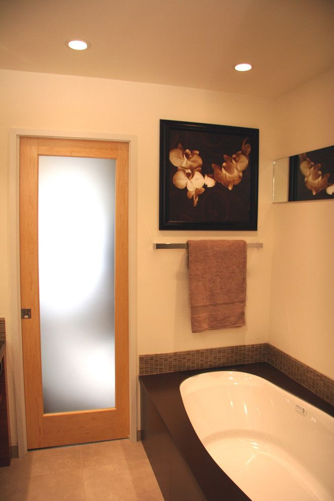 Phinney Ridge for a Asian Bathroom with a Undermount Tub and Westchester Lagoon (Anchorage) Master Bath by Chanelle M Woodis