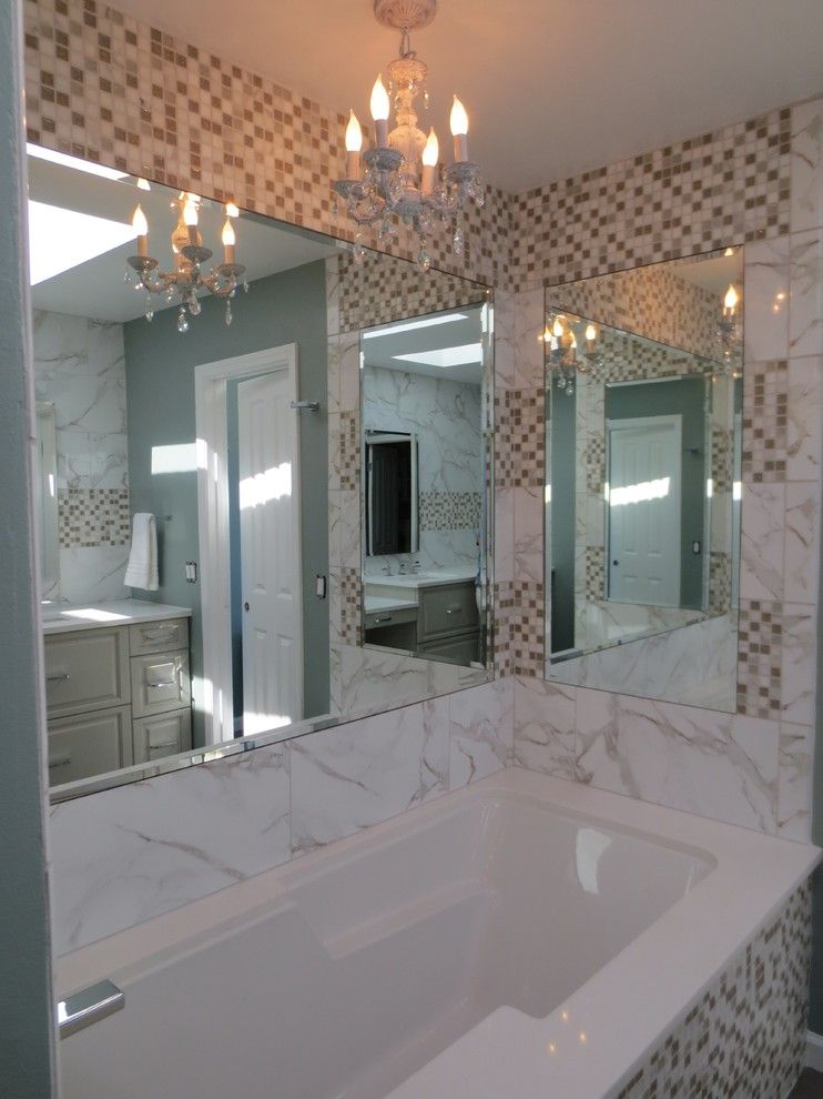 Phylrich for a Traditional Bathroom with a Phylrich Faucets and Beautiful Bath by Cabinets by Design