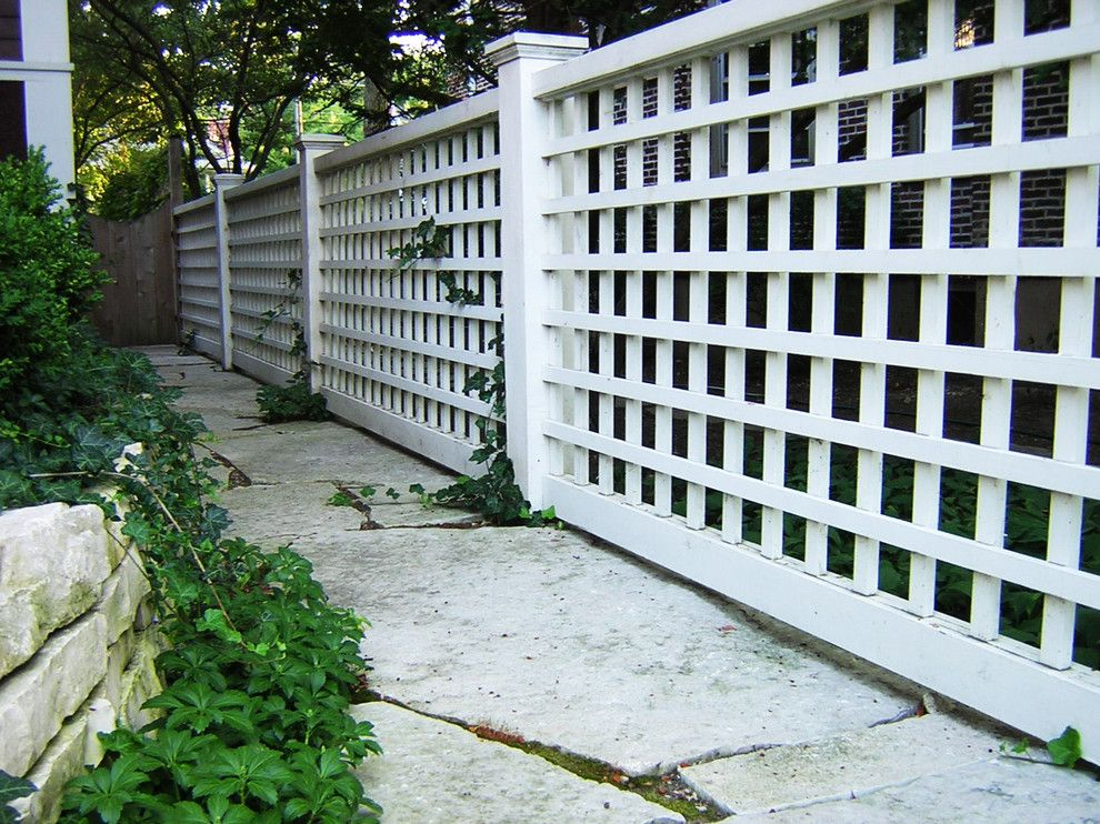 Picket Fence Realty for a Traditional Landscape with a Lush Landscaping and Wilmette Residence Landscape by Arrow. Land + Structures