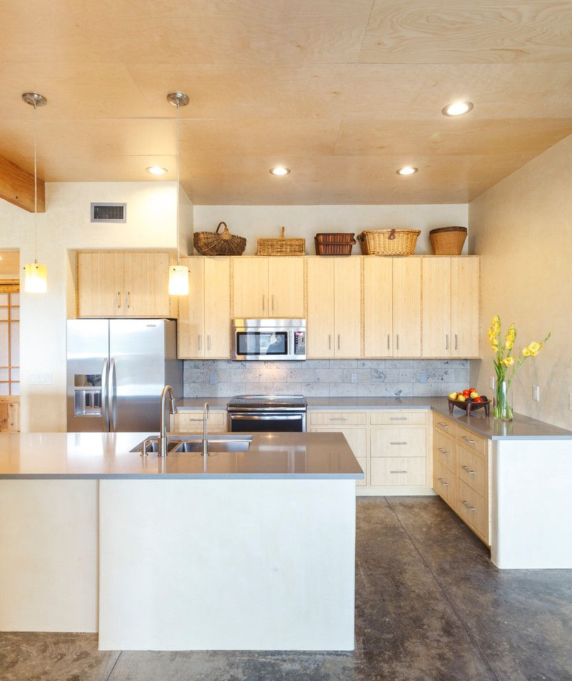 Picnic Basket Nyc for a Southwestern Kitchen with a Gray Countertop and Taoshouse by Needbased Inc.