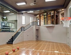 Pictures of Basketballs for a Traditional Home Gym with a Basketball and Tramonto by Manor House Interiors