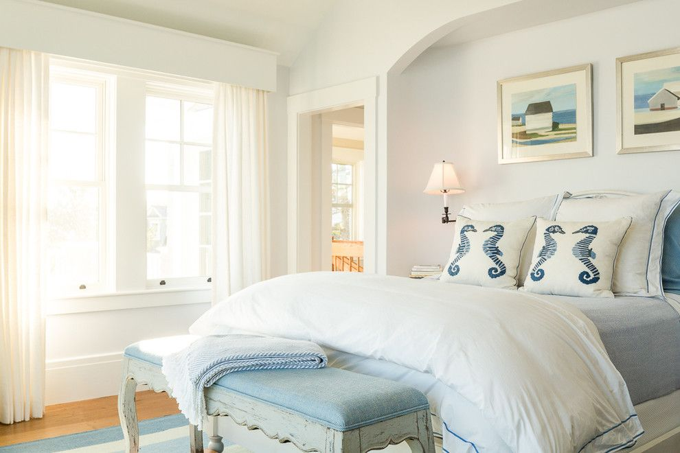 Pictures of Seahorses for a Beach Style Bedroom with a Wall Art and Rocky Point Teardown by Spang Builders, Inc.