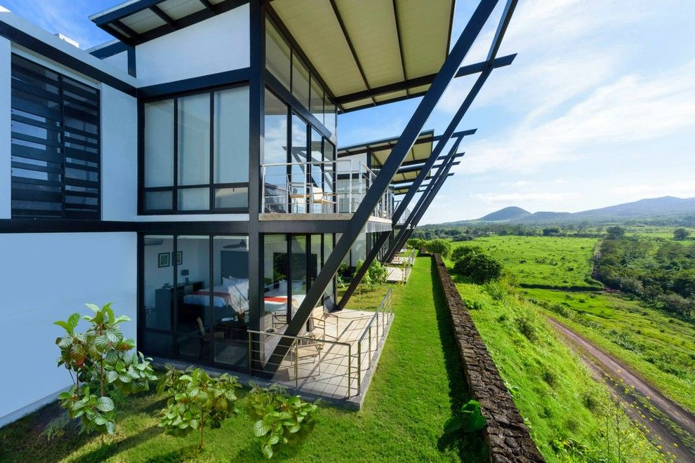 Pikaia Lodge for a Modern Spaces with a Ecological and Pikaia Lodge by Coplaza Arquitectos