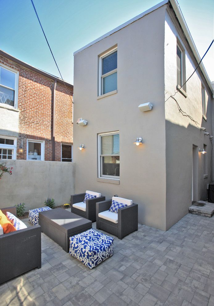 Pilgrim Furniture City for a Modern Patio with a Gray and Whole House Washington Dc by Kingston Design Remodeling